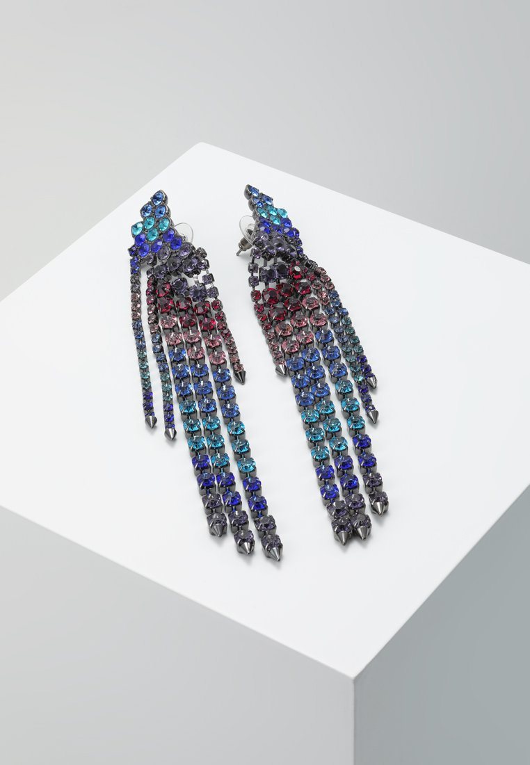 Rebecca Minkoff - GEMMA WINGED FRINGE - Boucles d'oreilles - true multi