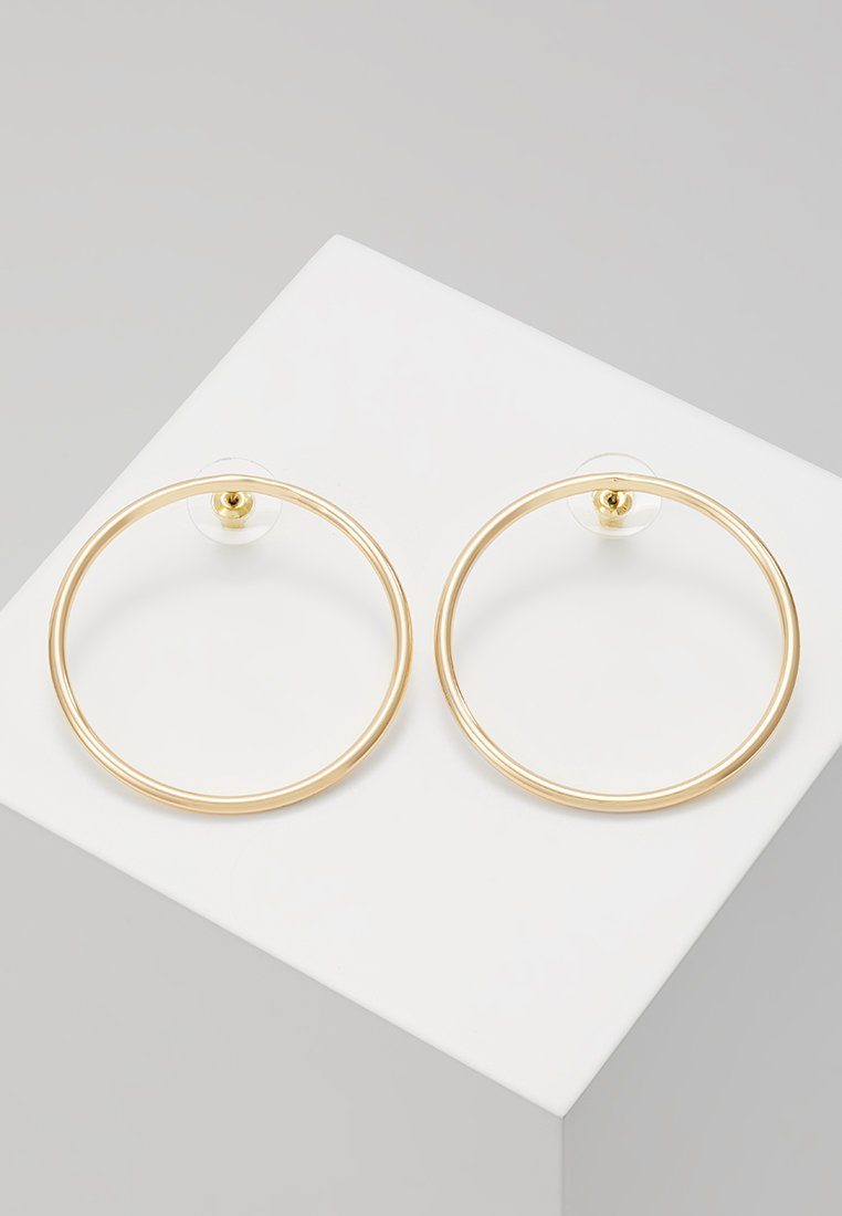 Rebecca Minkoff - TUBULAR HOOP EARRING - Ohrringe - gold-coloured