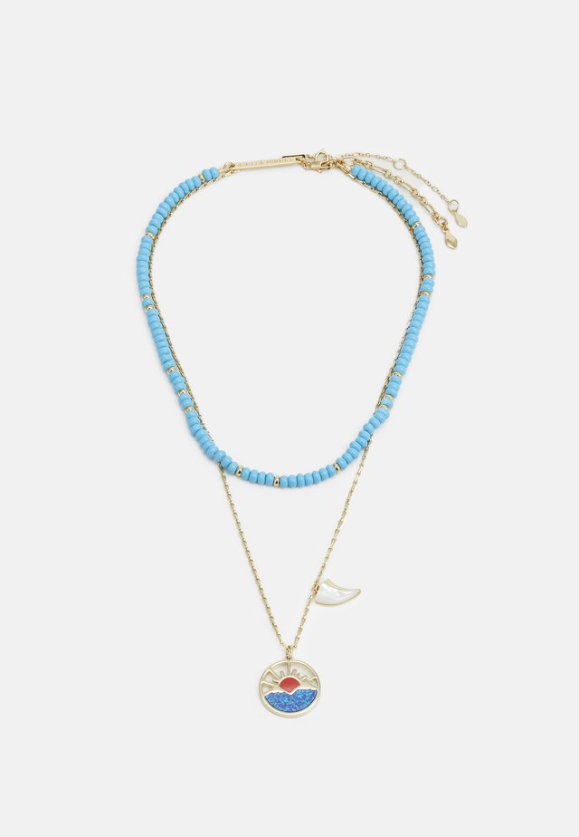 HORIZON CHARM LAYERED NECKLACE  - Necklace - gold-coloured
