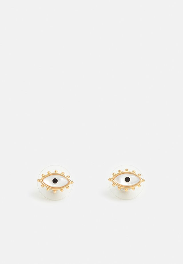 EVIL EYE STUD EARRING - Oorbellen - gold-coloured