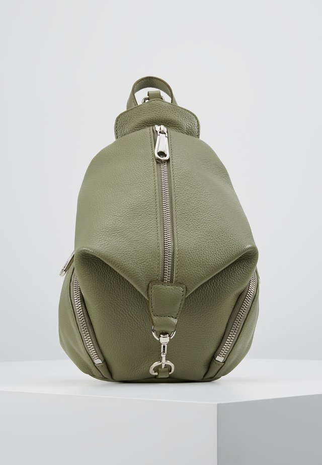 CONVERTIBLE MINI JULIAN BACKPACK - Sac à dos - thyme