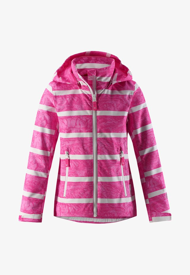 Waterproof jacket - candy pink