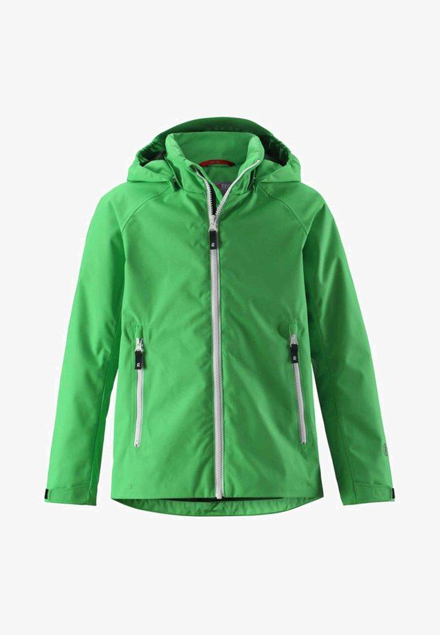 SUISTO - Waterproof jacket - brave green