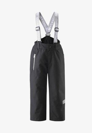 KIDDO LIGHTNING - Snow pants - black