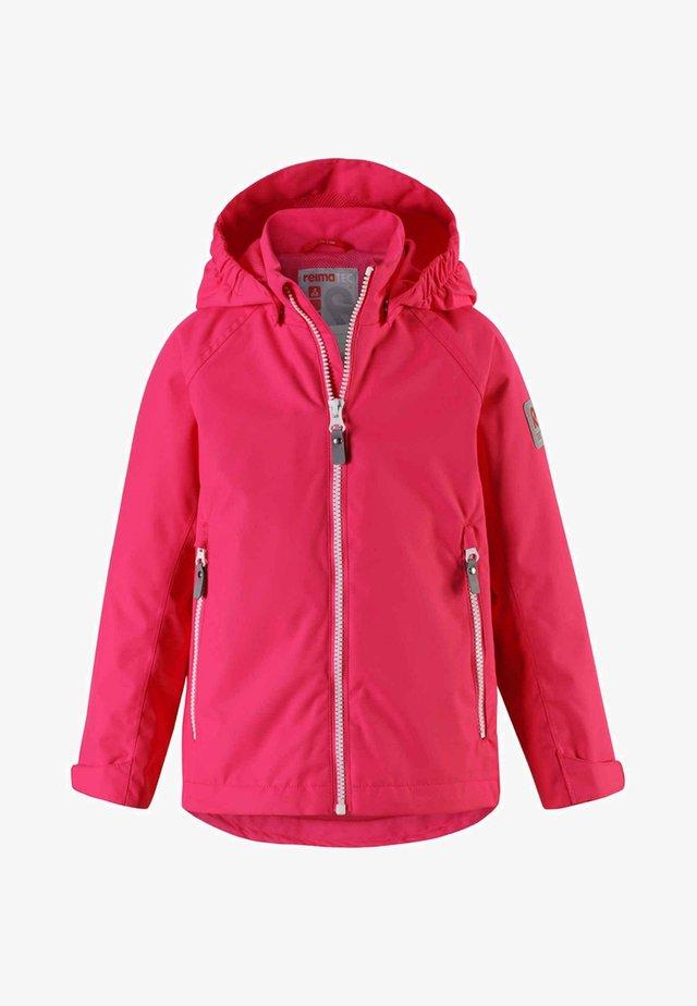 SOUTU - Waterproof jacket - candy pink