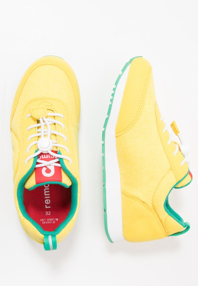 ELEGE - Sneaker low - lemon yellow