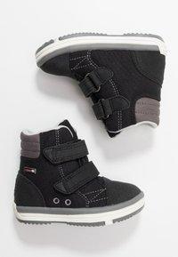 Reima - PATTER WASH - Winter boots - black - 0