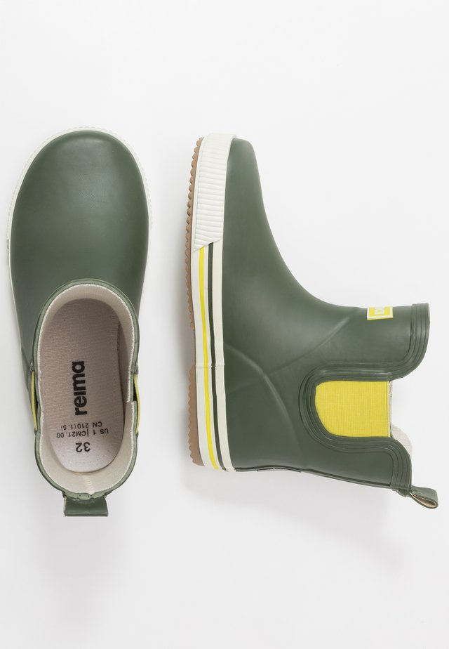 RAIN BOOTS ANKLES - Gummistövlar - dark green