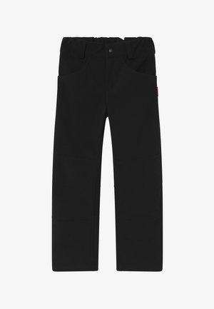 AGERN - Outdoorové kalhoty - black