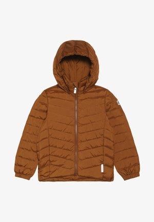 FALK - Gewatteerde jas - cinnamon brown
