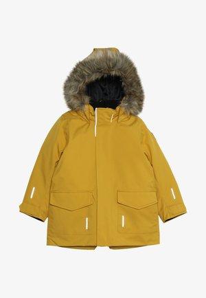 MUTKA - Winter jacket - dark yellow