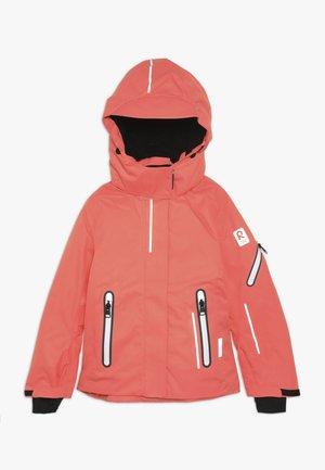 FROST - Snowboardová bunda - bright salmon