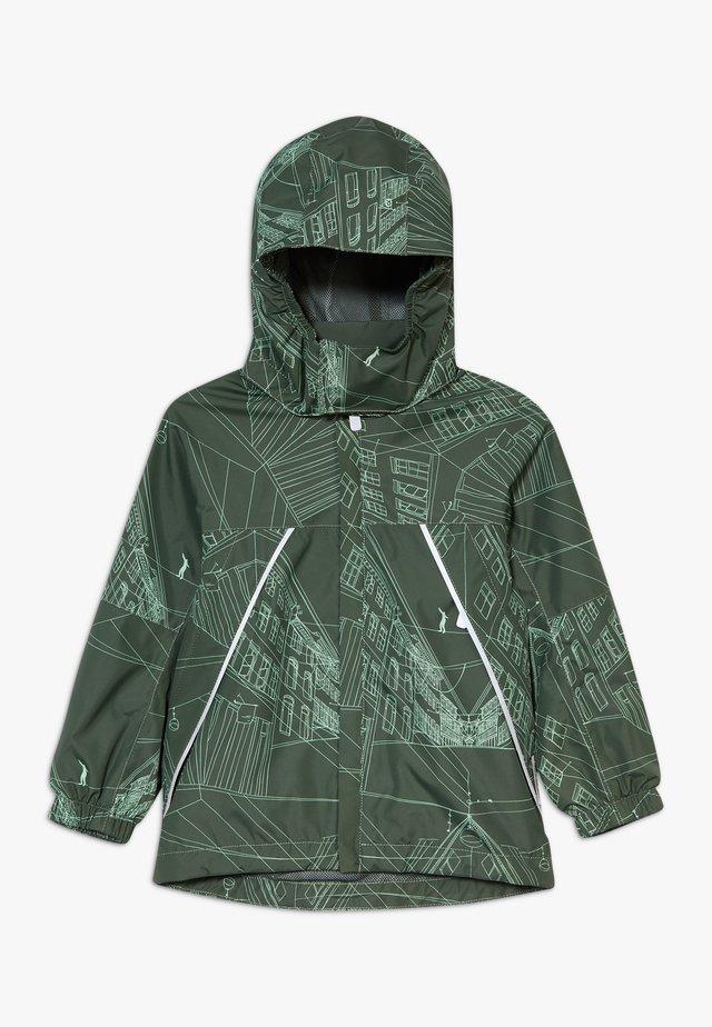 REIMATEC DRAGSVIK - Hardshellová bunda - dark green