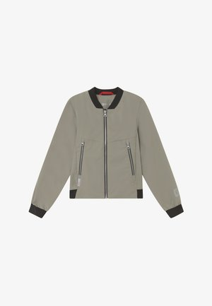 HUUKOIS - Hardshell jacket - clay grey