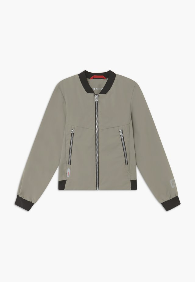 HUUKOIS - Chaqueta Hard shell - clay grey