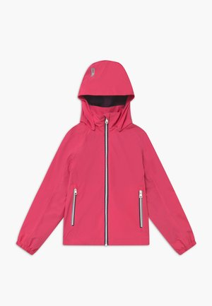 Veste imperméable - berry pink