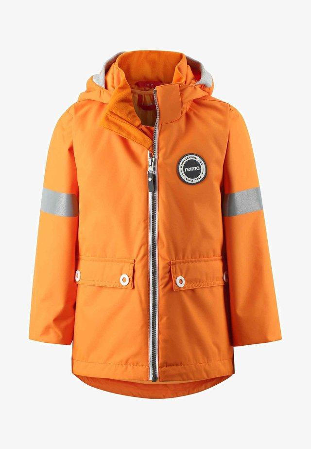 Hardshell jacket - orange