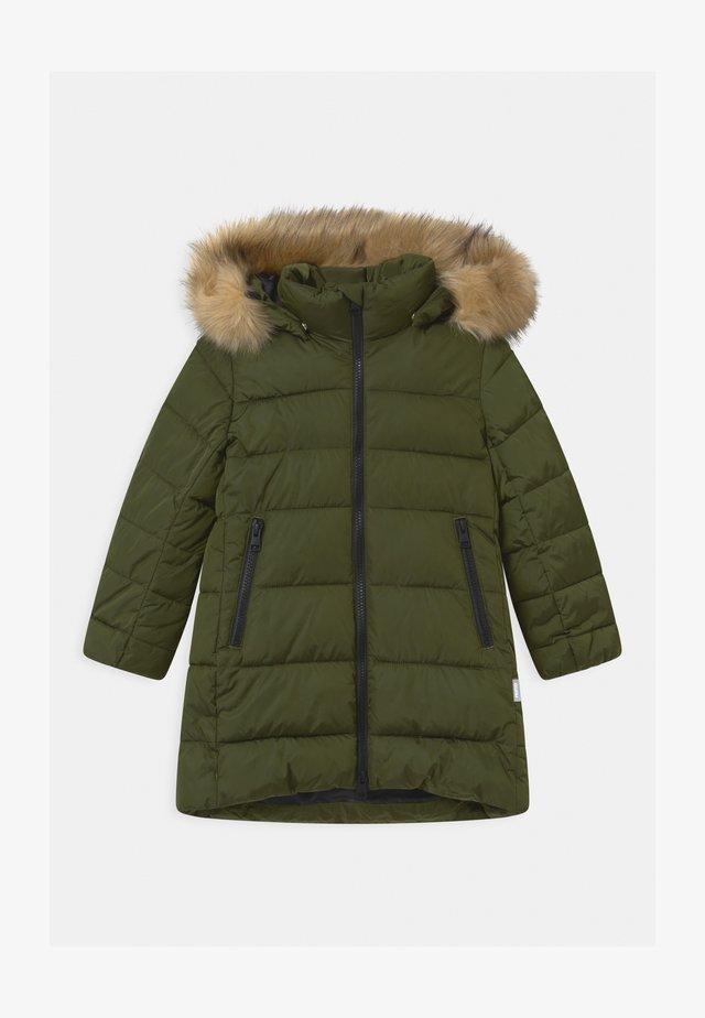 LUNTA UNISEX - Cappotto invernale - khaki green