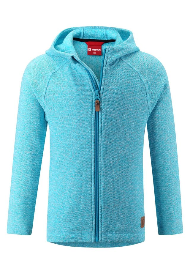 REIMA FLEECEJACKE HAIKO - Zip-up hoodie - cyan blue