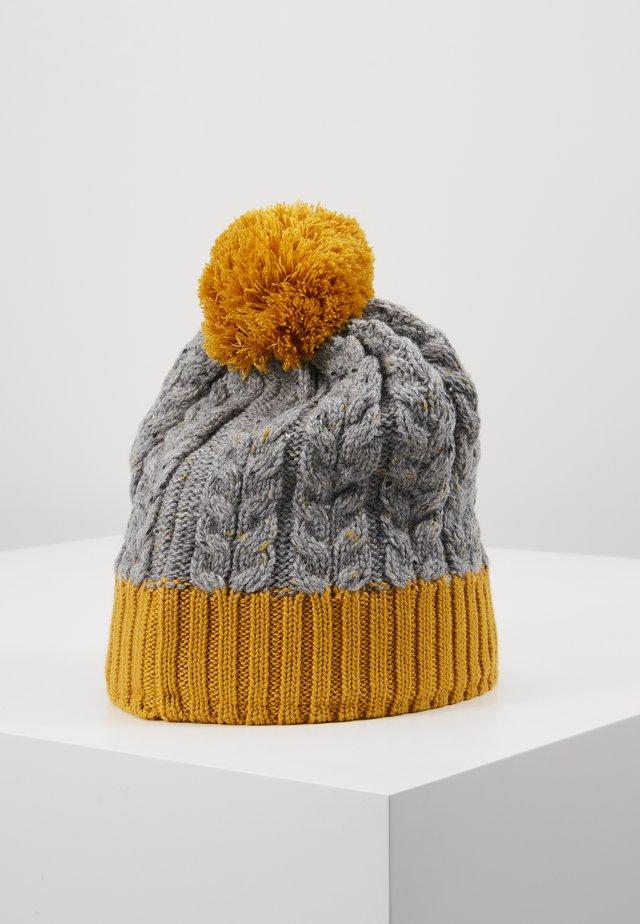POHJOLA - Mütze - dark yellow