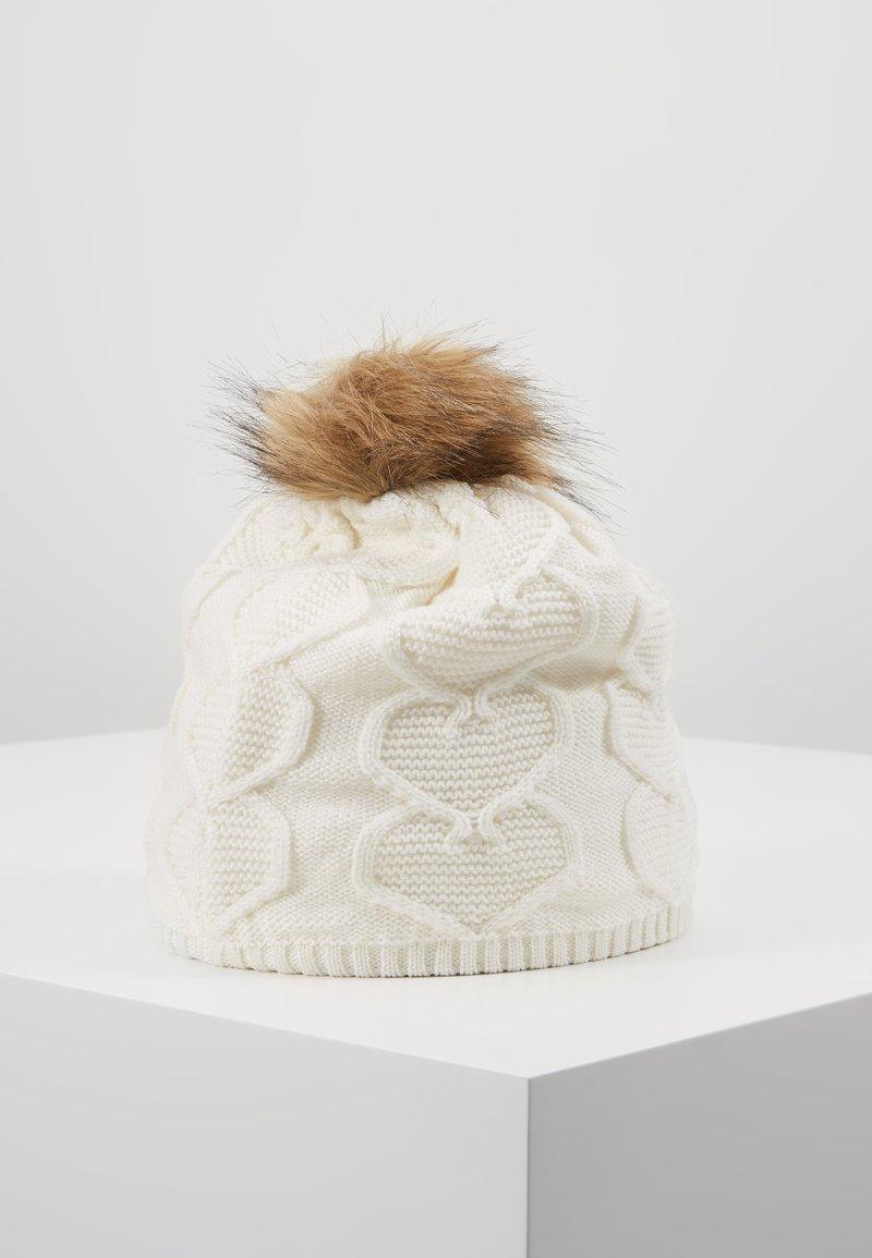Reima - KNITT WOLLMÜTZE - Bonnet - white