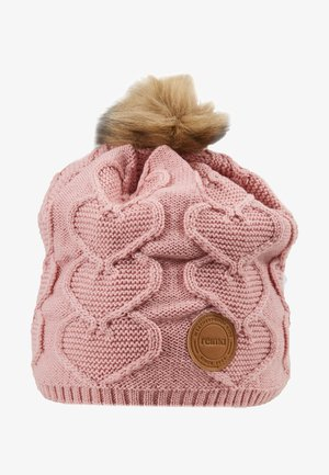 KNITT WOLLMÜTZE - Beanie - soft rose pink