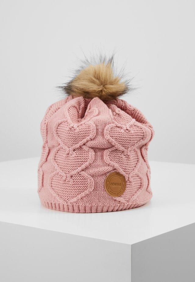 KNITT WOLLMÜTZE - Mütze - soft rose pink