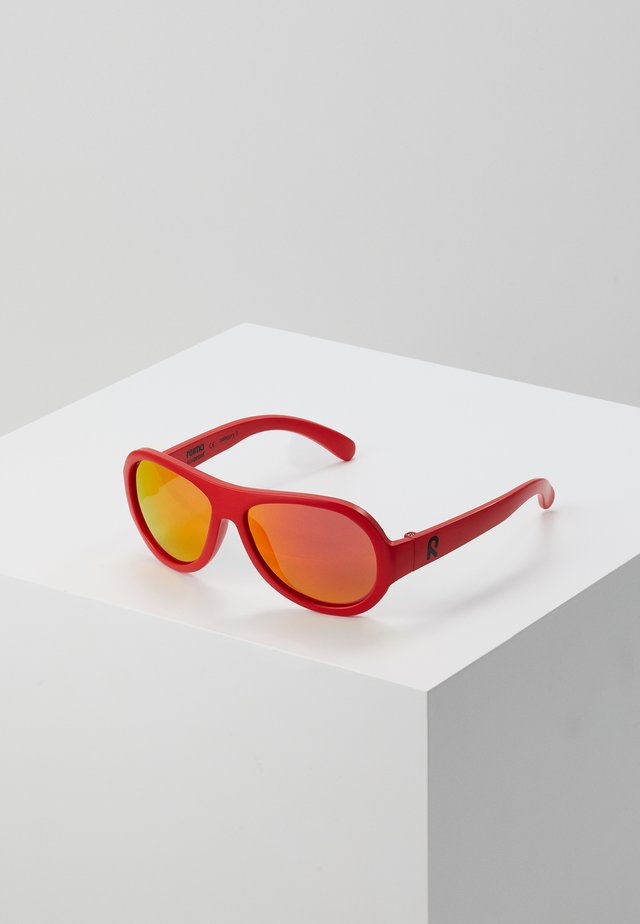 SUNGLASSES AHOIS - Aurinkolasit - flame red