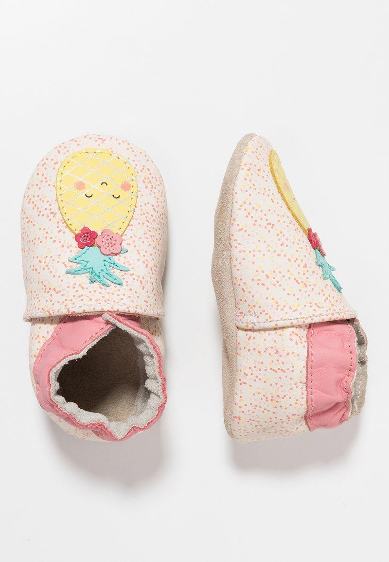 Robeez - SWEET PINAPPLE - Chaussons pour bébé - blanc casse