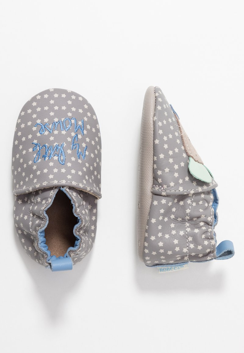 Robeez - LITTLE MOUSE - First shoes - grey