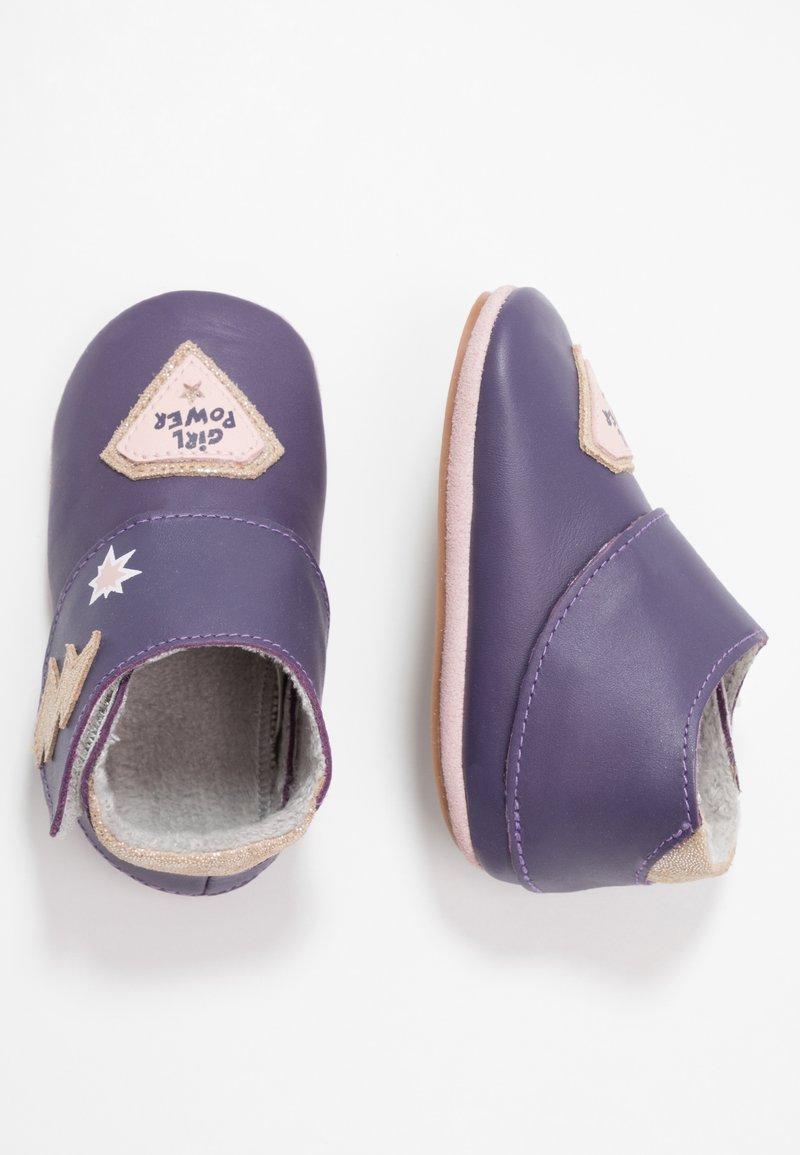 Robeez - GIRLPOWER - First shoes - purple