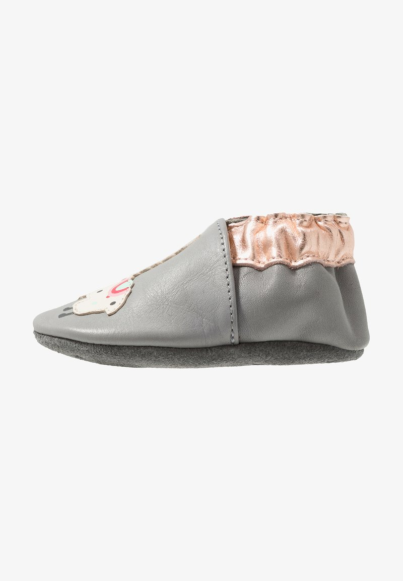 Robeez - SWEET LAMA - First shoes - grey