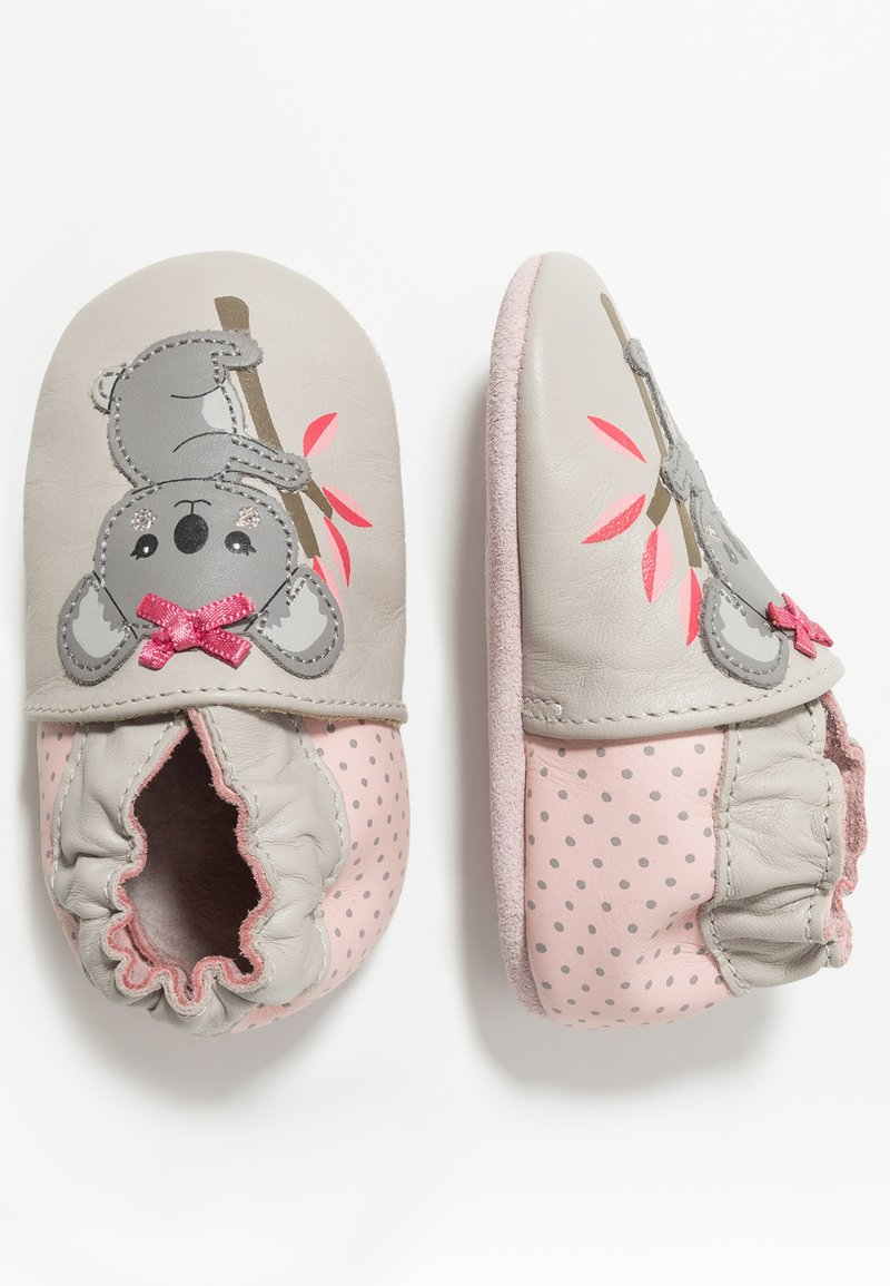 Robeez - KOKOALA - Krabbelschuh - light grey