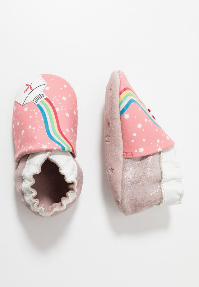 RAINBOW PASTE - First shoes - rose