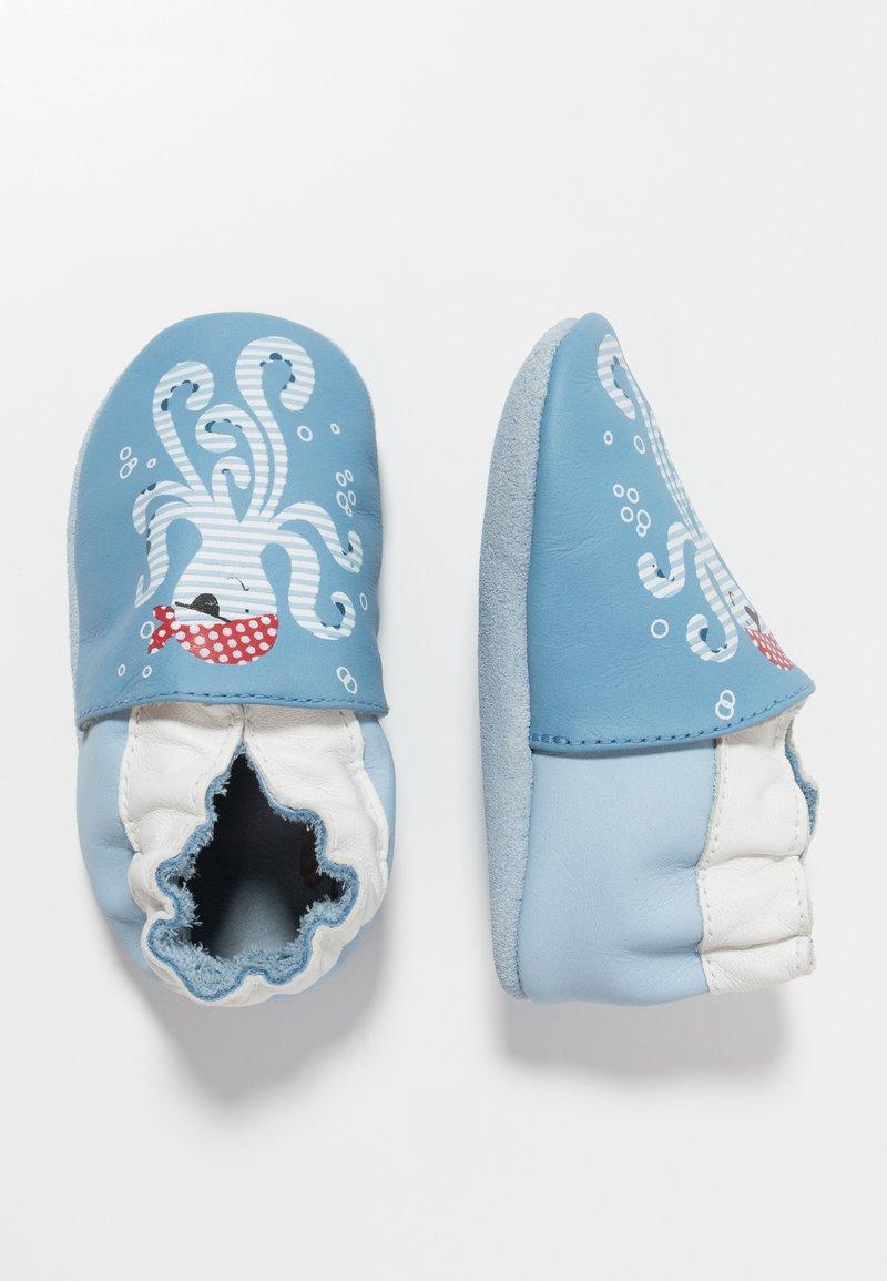 Robeez - OCTOPUS - First shoes - bleu