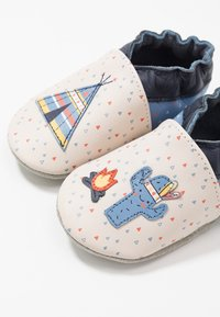 Robeez - TIPI - First shoes - beige/bleu - 6