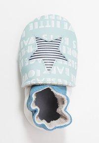 Robeez - PLAYSCHOOL - First shoes - bleu clair/blanc - 1