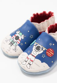 Robeez - MISTER SPACEMAN - First shoes - bleu fonce/klein rouge - 6