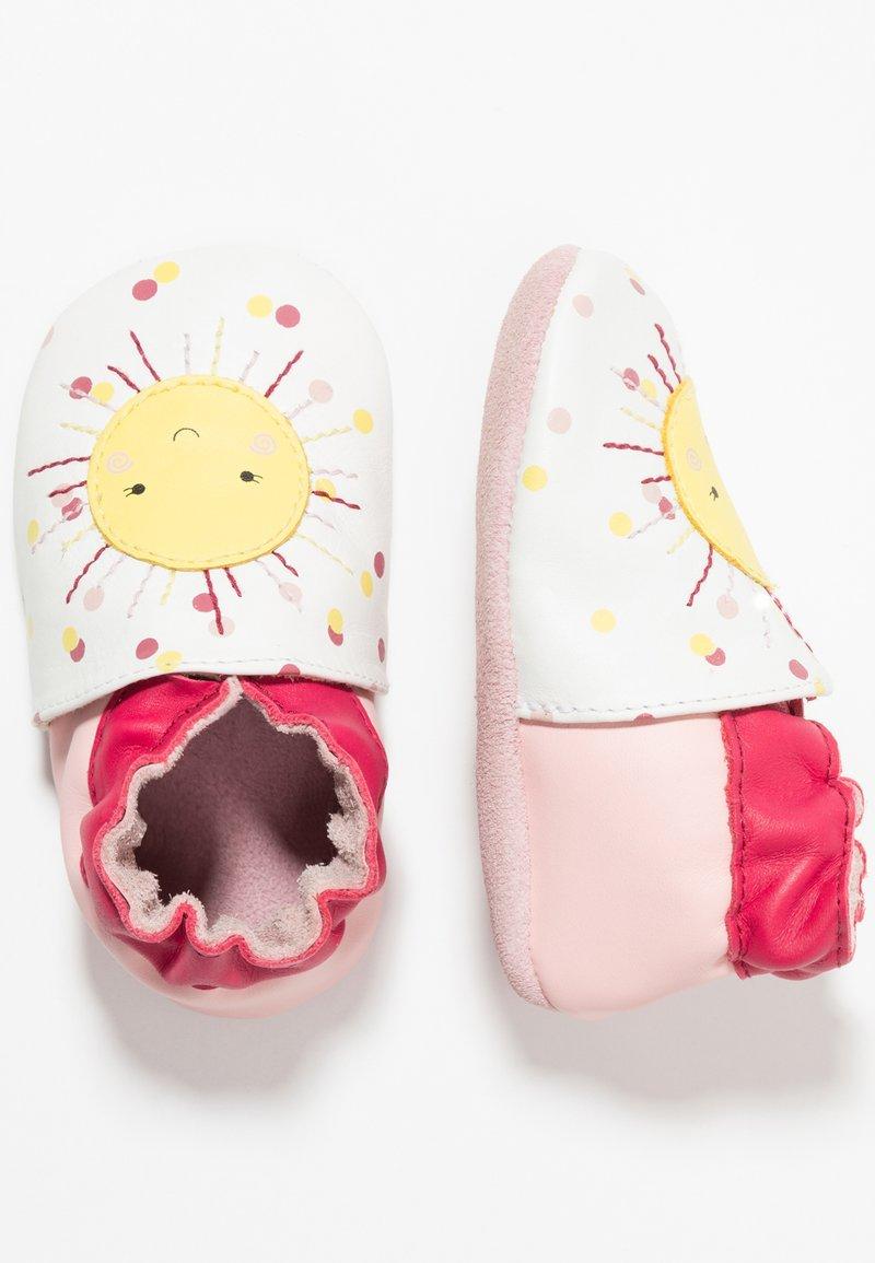 Robeez - SUN SHINNING - Scarpe neonato - blanc
