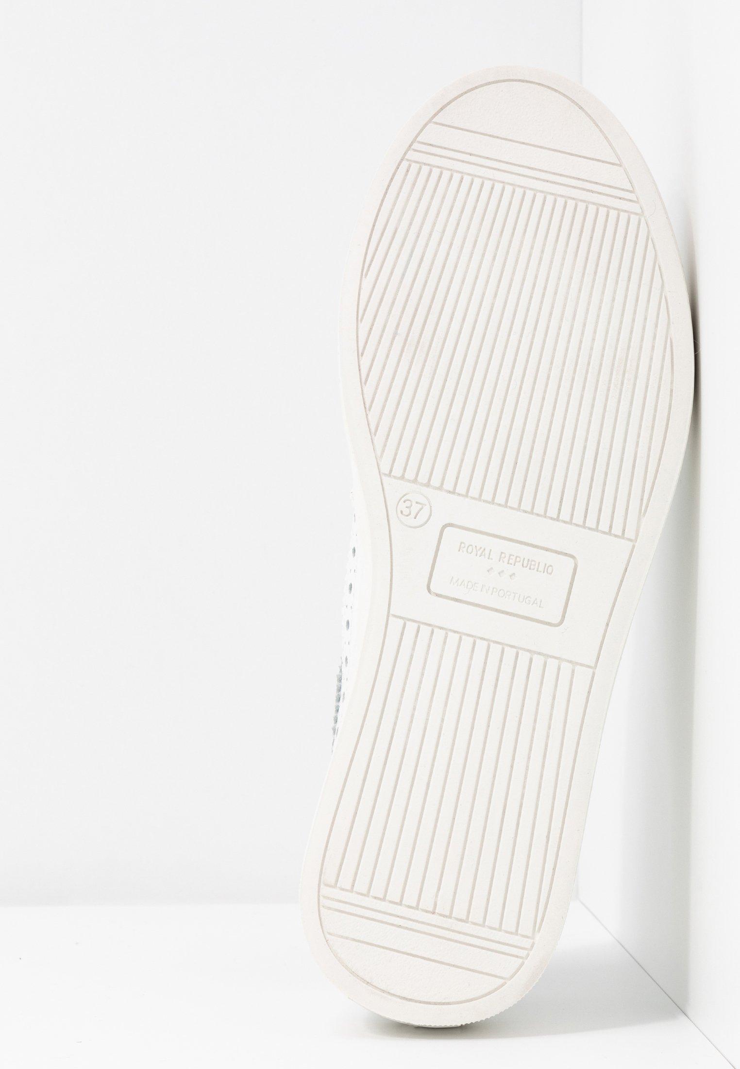 Royal RepubliQ DORIC BROGUE DERBY SHOE - Sportiga snörskor - white