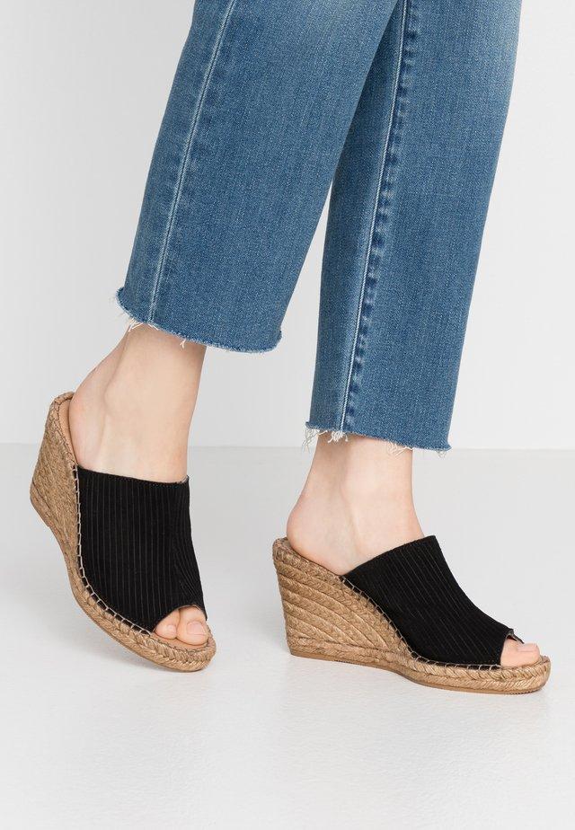 WAYFARER MULE - Pantolette hoch - black