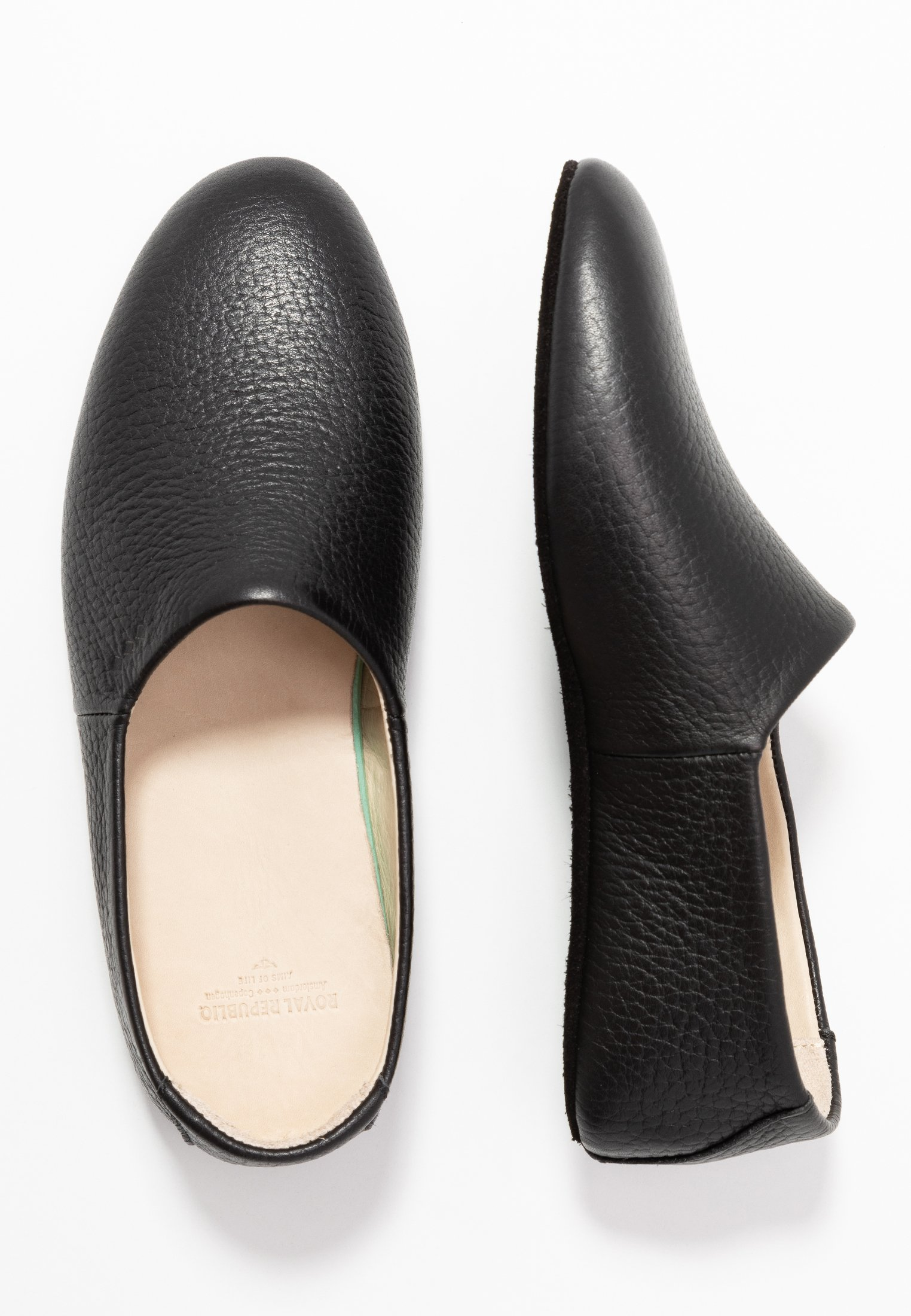Royal Republiq Coz Loafer - Pantofole Black K74CxA6