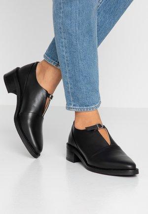 ELITE MONK SHOE - Loafers - black
