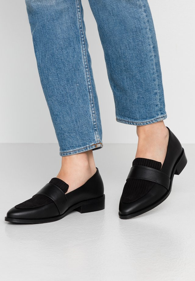 PRIME CORDUROY LOAFER - Slip-ins - black