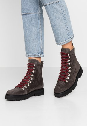 AVE HIKER OXFORD COMBAT BOOT - Veterboots - anthracite