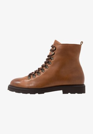 TEDIQ HIKER COMBAT BOOT - Lace-up ankle boots - tan