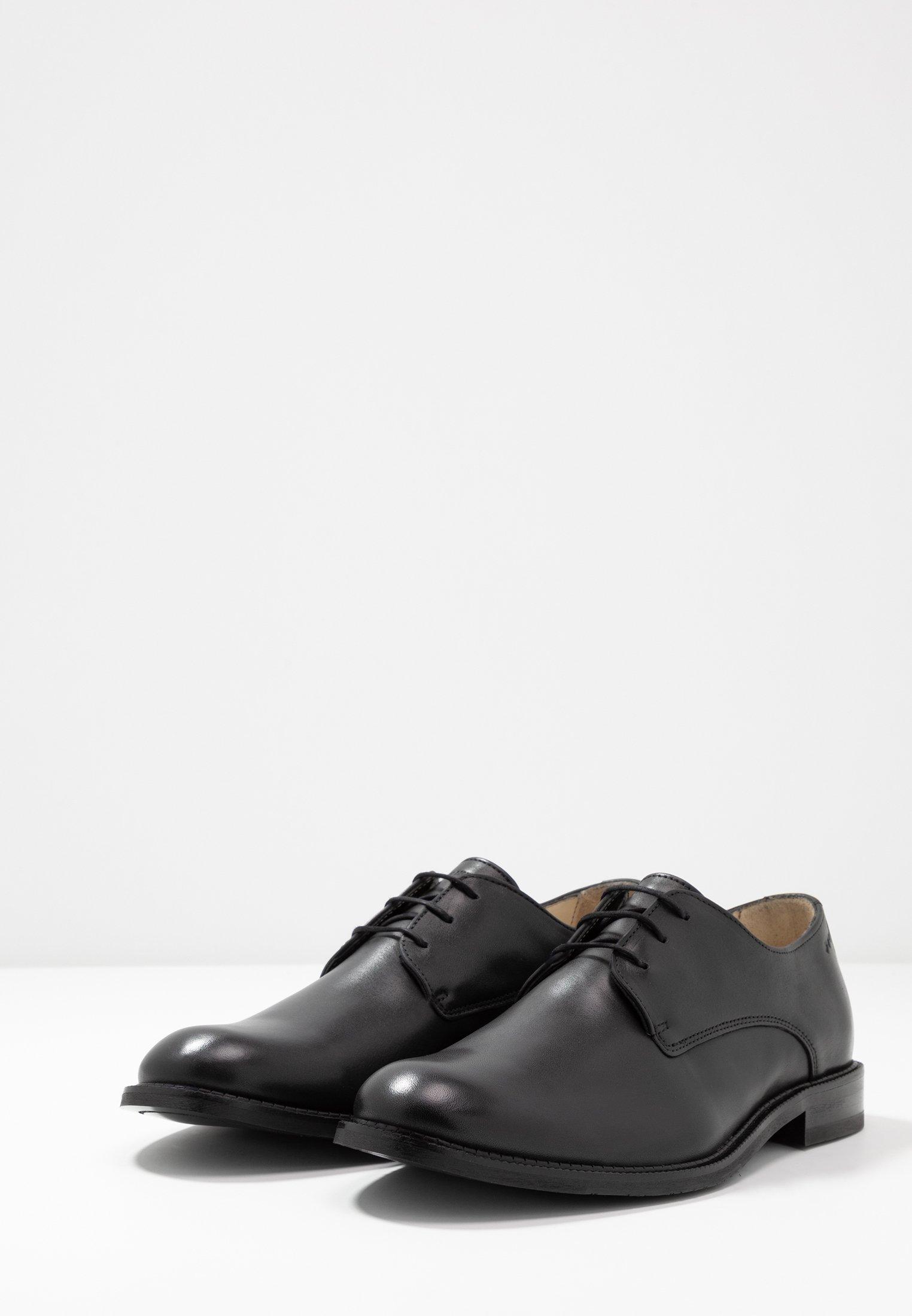 Royal RepubliQ ALIAS CLASSIC DERBY SHOE - Stringate eleganti - black