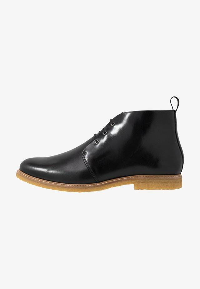 CAST CHUKKA - Lace-up ankle boots - black