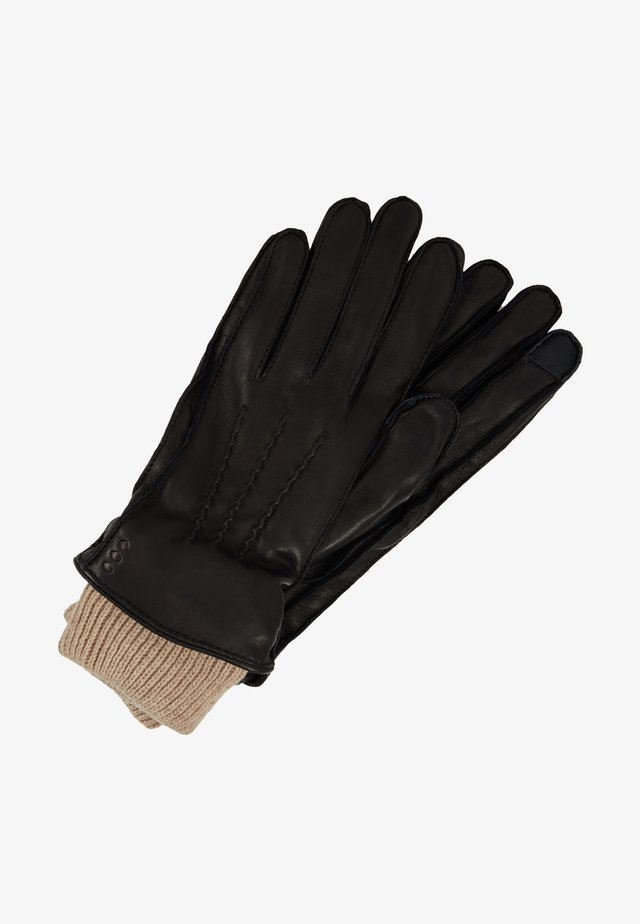 EXPLORER GLOVES TOUCH WOMEN - Sormikkaat - black
