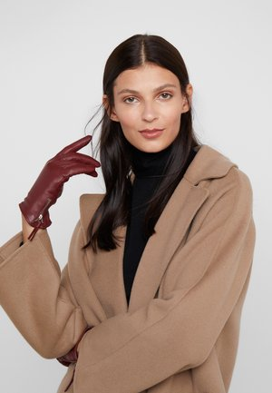 GROUND GLOVE TOUCH WOMEN - Guanti - oxblood